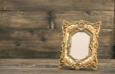 Check out Antique golden picture frame by LiliGraphie on Creative Market