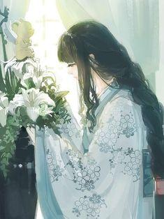 grafika flowers