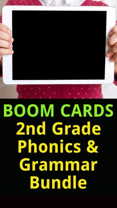 Use this Boom Cards 2nd Grade Bundle to focus on vocabulary and phonics: distinguishing long or short vowels, open syllables, closed syllables, prefixes, suffixes, and silent letters. Contains 18 resources with movable Drag Teaching Resources, Classroom Resources, Teaching Ideas, 3rd Grade Classroom, Short Vowels, Grammar Lessons, Interactive Learning, Prefixes, Creative Teaching