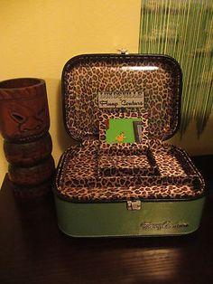 Lux De Ville Train Case - Lime Green (Swoon!)