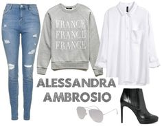 Alessandra Ambrosio Outfit