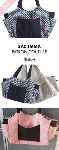 Crochet purse pouch tutorials 52 ideas for 2019 Sewing Online, Crochet Doll Tutorial, Diy Sac, Diy Bags Purses, Couture Sewing, Fabric Bags, Crochet Purses, Fashion Handbags, Gucci