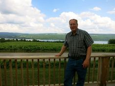 Grandson of Dr. Konstantin Frank. Dr. Frank discovered the method of growing European grapes in the Finger Lakes.