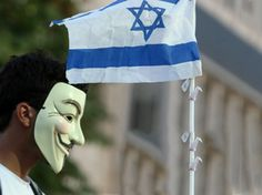 Anonymous leaks personal information of 5,000 Israeli officials    AFP Photo / Hazem Bader)