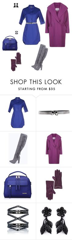 """Weekend look"" by mariesipova ❤ liked on Polyvore featuring Steve J & Yoni P, Orciani, Boohoo, MaxMara, Portolano, Eva Fehren, Valentino, women's clothing, women's fashion and women"