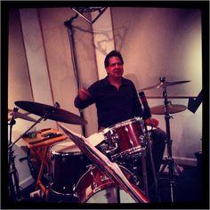 Tony Jones at rehearsal last night. Go Tony!