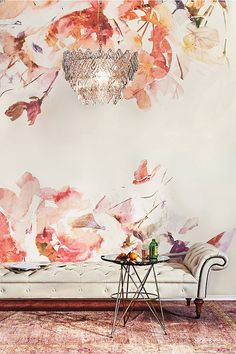 Favorite Wallpaper (this stunning vintage-inspired design from Anthropologie)