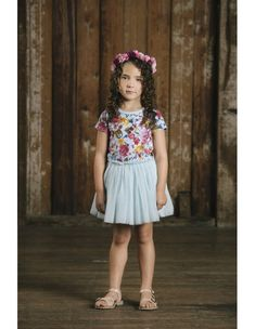 Rock your Kid Nothing But Flowers, Rock, Tulle, Kid, Skirts, Vintage, Dresses, Fashion, Bohemian Fashion
