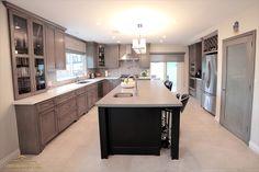 Color Inspiration, Kitchen Island, Coastal, Kitchens, House, Home Decor, Island Kitchen, Home, Haus