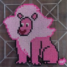 Lion - Steve Universe perler beads by honey.beads