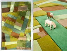 Fluffy and Colorful Landcarpets for Interiors with a Perspective - http://freshome.com/2010/10/12/fluffy-and-colorful-landcarpets-for-interiors-with-a-perspective/