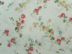 Liberty Tana Lawn Cotton Fabric ELIZABETH 'A' 2.2m Floral Design 220cm