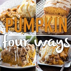 I don't think I'd have a problem eating any one of these pumpkin recipes! ;-) #tasterich #kitchenaid #kitchenware #foodporn #food #kitchen#Easycooking #cookingmate #eatclean #livingwell #eatwell #cleaneating #healthyeating #ecomom #cookinglovers #cookingtools  #cookingutensil