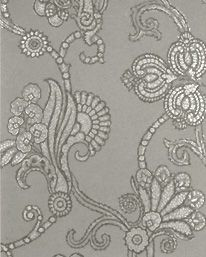 Marquise Damask Mole/Pewter från Mulberry