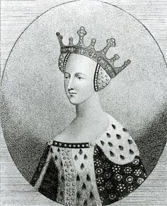 Katherine of Valois, who married Owen Tudor.  Before that, she was Queen of England, consort to King Henry V, and their son was Henry VI. Through her child with Owen Tudor, she was grandmother to Henry VII and great-grandmother to Henry VIII.