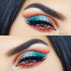 Great eyeshadow look #eyeshadowsideas