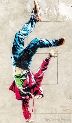 Above in London, UK #graffiti #streetart #london #streetart jd