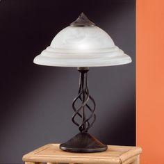 Fischer & Honsel GmbH Tischleuchte rustikal in rostfarbig antik mit Alabasterglas weiß Siena 56501 Jetzt bestellen unter: https://moebel.ladendirekt.de/lampen/tischleuchten/beistelltischlampen/?uid=22d65238-d891-57d6-833d-d9119219ad55&utm_source=pinterest&utm_medium=pin&utm_campaign=boards #leuchten #lampen #tischleuchten #beistelltischlampen Bild Quelle: www.wohnlicht.com
