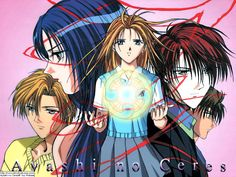 Ayashi no Ceres If you like Fushigi yuugi you will like this mini-series as well. Magic, mystery, death and love all combined in this lovely anime serie