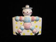 Clown Relpo ceramic planter 504A Vintage Crockery, Vintage Clown, Easter Sale, Ceramic Planters, Ceramics, Christmas Ornaments, Holiday Decor, Etsy, Ceramic Pots