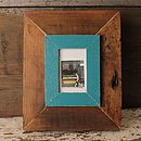 Reclaimed Wooden Miniature Photo Frame