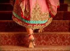 heels. HIGH heels. ;)