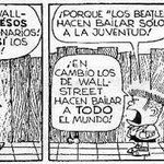 "Columbus (@ColumbusDM) | Twitter | ""Wall Street"" por #Quino #CaricaturaDelDía #Cartón #Moneros #FelizMiércoles #Beatles #Mafalda #FelizCumpleaños"