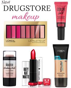 The latest in drugstore beauty is right here! Check out the newest crop of drugstore makeup products you need to get your hands on now! From a Katy Perry curated line of lipsticks to a mattifying B…