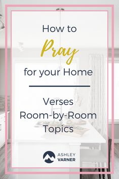 How to Cover Your Home in Prayer Prayer Scriptures, Bible Prayers, Prayer Quotes, Faith Quotes, Bible Quotes, Bible Verses, Mom Quotes, Power Of Prayer, My Prayer