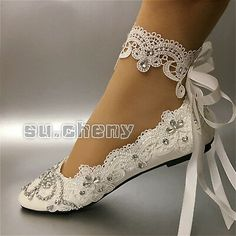 wedding shoes flats Picture 5 of 12 Ballet Wedding Shoes, Wedding Slippers, Wedding Shoes Bride, Wedding Boots, Bride Shoes, White Wedding Shoes, Fairy Wedding Dress, Dream Wedding Dresses, Fancy Shoes