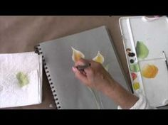 Great tutorial on how to paint a calla lily!