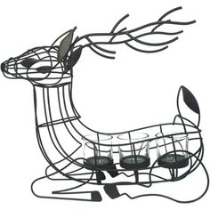 Better Homes and Gardens Reindeer Tealight Candle Holder #winteriscoming #christmas #reindeer