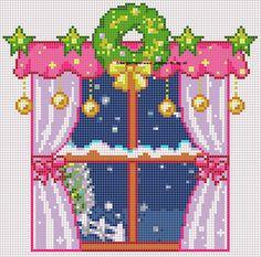105 Free cross stitch designs window views stitchingcharts borduren gratis borduurpatronen ramen uitzichten kruissteekpatronen