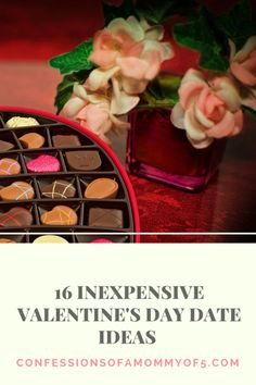 16 inexpensive Valentine's Day date ideas - Confessions of A Mommy of 5