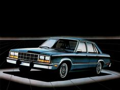 1982 Ford Fairmont Futura 4-door Sedan (54B) '09.1981–82