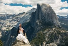 Glacier Point Wedding in Yosemite | Yosemite Wedding Photographer
