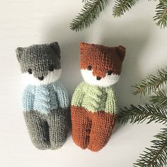 Forest Friends Dolls pattern by Esther Braithwaite Ravelry: For., Forest Friends Dolls pattern by Esther Braithwaite Ravelry: For…, Knitted Doll Patterns, Knitted Dolls, Crochet Toys, Crochet Patterns, Knit Crochet, Crochet Birds, Knitting Charts, Knitting Patterns Free, Knitting Yarn