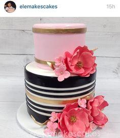 Preettttty cake Kate Spade Cake, Cake Cookies, Cupcakes, Cake Stuff, Cake Pops, Cupcake Cakes, Cakepops, Cake Pop, Cup Cakes