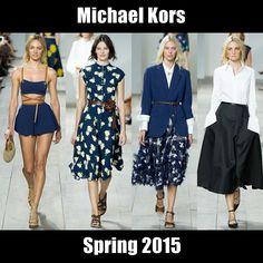 #MichaelKors takes another stab at American sportswear. The full report here: http://socksnbirkenstocks.blogspot.com/2014/09/nyfw-ss15-pt7-michael-kors-hugo-boss.html #NYFW #SS15