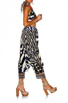 Camilla - Louwalan Tales / Harem Pants W Side Split