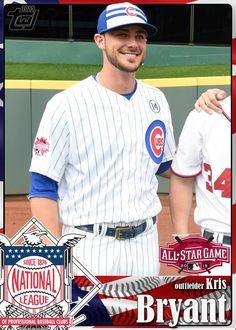 Kris Bryant: Cub, All-Star, NL ROY, Stud!