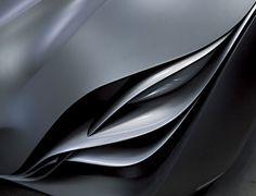 Mazda light sculpture.