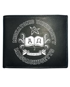 awesome MISKATONIC UNIVERSITY- Lovecraft Inspired Men's Leather Wallet