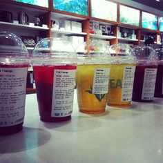 """(by you): """"Iced Teas for some fellow mall employees on a hot day."""" Via @darrindaniel on Instagram."""