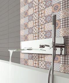 ¡Renueva las paredes de la sala de baño de forma creativa! #Hogar #Decoración