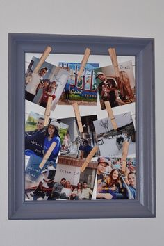 Cheap and easy photo frame DIY
