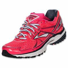 Brooks Adrenaline GTS 12 Women's Running Shoes| FinishLine.com | White/Shadow/Powder Blue/Back