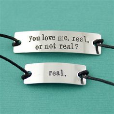 Hunger Games quote bracelets