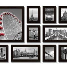 Sada 10 obrazů City