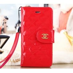 Chanel Side Flip Leather iPhone 6 Plus Case